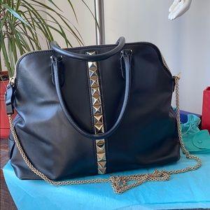 Valentino Rockstud large top handle/crossbody bag